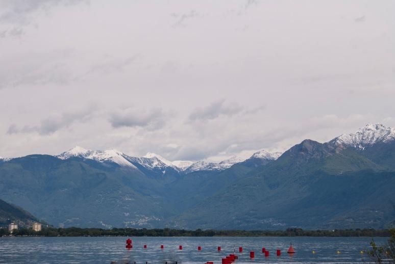 View from Locarno, Switzerland.